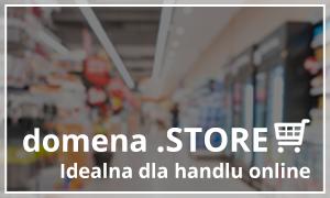 domenta .store idealna dla handlu online